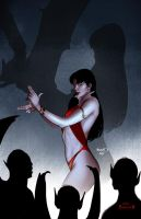 Vampirella 22 cover by PaulRenaud