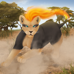 #668 Pyroar by HopelessAce