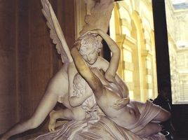 Eros and Psyche by pinkowleyes