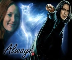 Severus and Lily - Always by anime-fan001