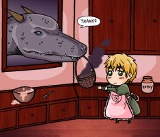 APH-- Scones For You by xxx-TeddyBear-xxx