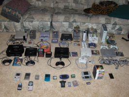 My Game Collection, Nov 2009 by GamzGuy