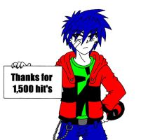 Thanks for 1,500 hit's by manga-kachazchan