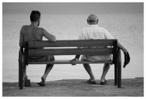 Two generations by Stathakaros