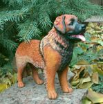 Leonberger Figurine by Kesa-Godzen