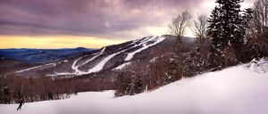 Killington sunrise by Locopelli