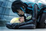 Cain + Abel - Starfighter Cosplay by HamletMachine by Murdoc-lein