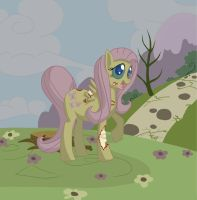 Zombie Fluttershy by AJaine