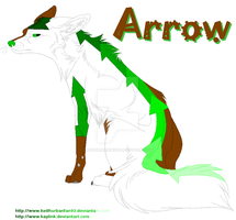 New Character Arrow by Keithurbanfan93