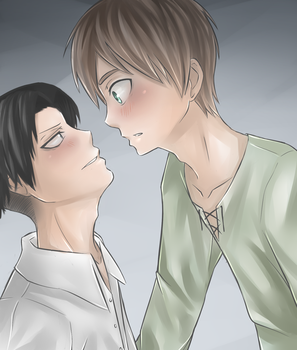 Too close! (colored version) by Kakty
