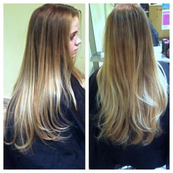 Aveda Balayage highlight by hiimgaymolly