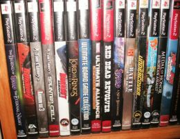 Video Game Collection Pt2 by amb15