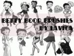 Betty Boop Brushes by Lavica-Photoshop