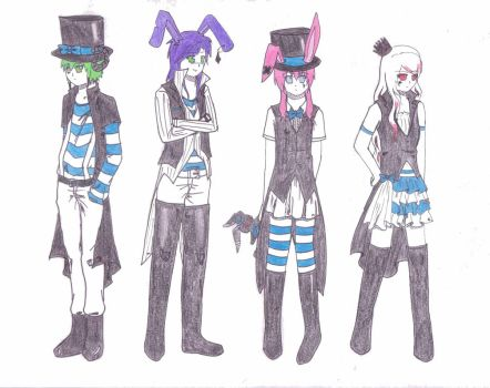 Matching Outfits Contest Entry by Kaerva