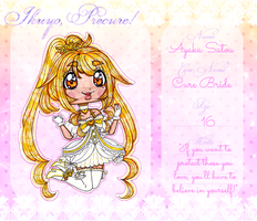 Cure Bride [ Ikuyo-Precure APP ] by sekaiichihappy