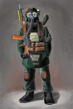 Ecologists Soldier by Tankboy74