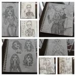 Marvel Sketchbook Sketch Dump by Mitchie98