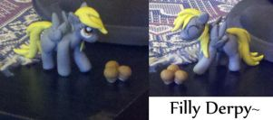 Filly Derpy by Eneha