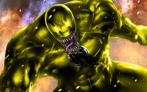 Venom Yellow Lantern by 666Darks