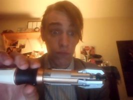 sonic screwdriver prop by Cryis
