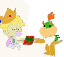 Bowser's Gift by SuperMarioFan
