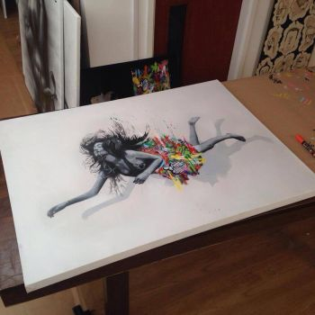 Colab with Martin Whatson by snikstencilstuff