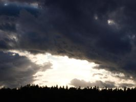 Sunlight in the storm by Spike654