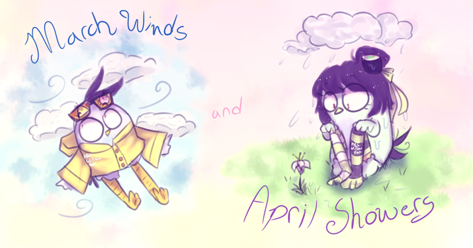 March Winds and April Showers by ABSWillowFan