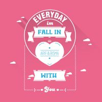 Everyday fallin love by vexeldesain