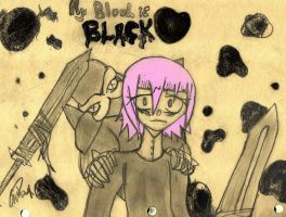 My Blood is Black by AmbigiousNothing