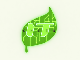 Green IT Logo by jomet