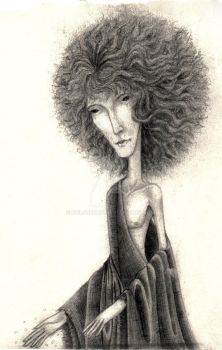 Sandman Dream 2 with afro by efil4rekac