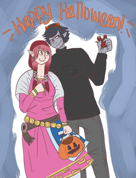 Happy Halloween by RaenyBoots