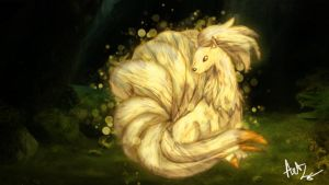 Ninetails by ArtLG
