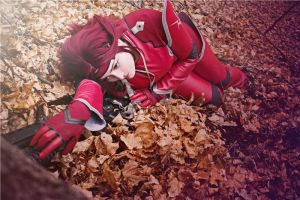 Code Geass. Kallen Kozuki. Moment of Silence by SarinaAmazon