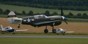 p40n warhawk back coming in by Sceptre63