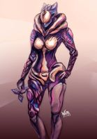 Saryn Warframe by Na1t