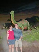 Me and Mary and a Dinosaur by RalfMaximus
