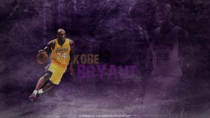 Kobe Bryant 2014 Purple by JamesChen