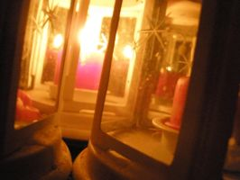 Candles light by rose134265