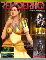RenderHQ May 2011 Cover- wip by Vi2DoubleYu