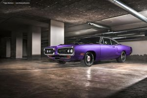 Plum Crazy 1970 Dodge Coronet - Shot 12 by AmericanMuscle