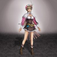 Dynasty Warriors 8 Wang Yuanji by ArmachamCorp