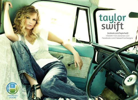 Taylor Swift New Retouching Design by HASSAN-FIZO