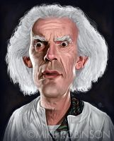 Doc Brown by mrobinson-art
