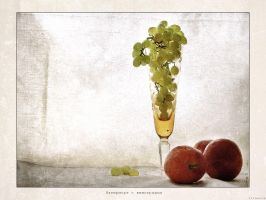 Still-life with grapes v.2 by firework