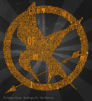 Mockingjay Typography by Kaostic