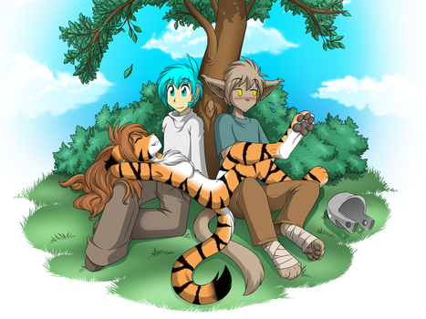 The Original Three by Twokinds