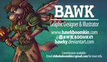 My New Business Card by bawky