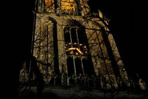 Church Tower by TheFoxAndTheRaven
